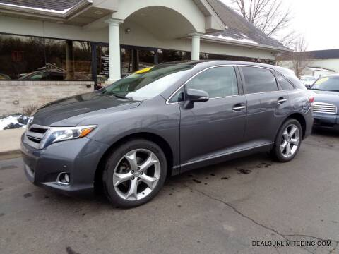 2015 Toyota Venza for sale at DEALS UNLIMITED INC in Portage MI