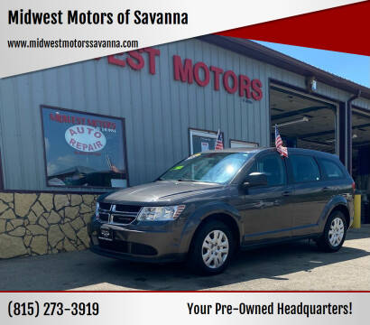 2015 Dodge Journey for sale at Midwest Motors of Savanna in Savanna IL