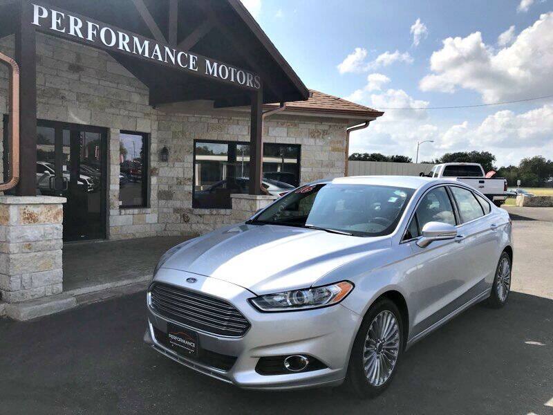 2016 Ford Fusion for sale at Performance Motors Killeen Second Chance in Killeen TX