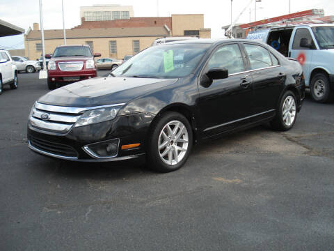 2012 Ford Fusion for sale at Shelton Motor Company in Hutchinson KS