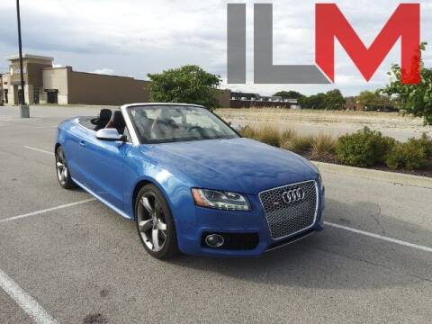 2011 Audi S5 for sale at INDY LUXURY MOTORSPORTS in Fishers IN
