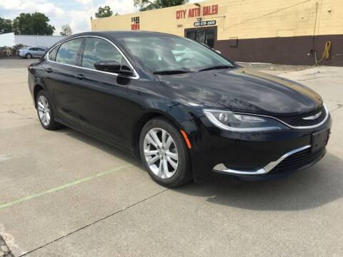 2015 Chrysler 200 for sale at City Auto Sales in Roseville MI