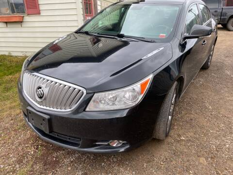 2010 Buick LaCrosse for sale at Richard C Peck Auto Sales in Wellsville NY