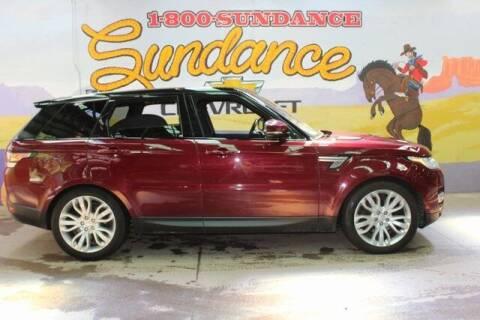 2017 Land Rover Range Rover Sport for sale at Sundance Chevrolet in Grand Ledge MI