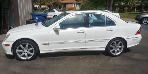2003 Mercedes-Benz C-Class for sale at MotorCars LLC in Wellford SC
