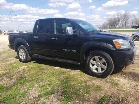 2007 Nissan Titan for sale at Northwoods Auto & Truck Sales in Machesney Park IL