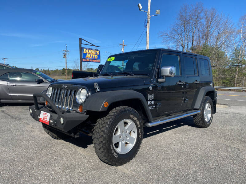 2008 Jeep Wrangler Unlimited for sale at Dubes Auto Sales in Lewiston ME