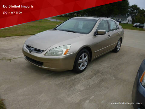2003 Honda Accord for sale at Ed Steibel Imports in Shelby NC