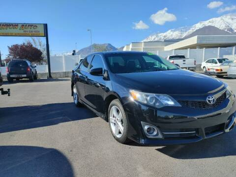 2012 Toyota Camry for sale at Canyon Auto Sales in Orem UT