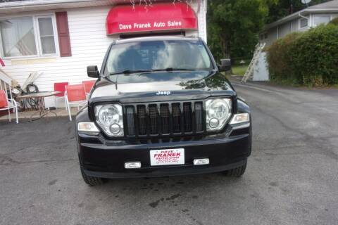 2012 Jeep Liberty for sale at Dave Franek Automotive in Wantage NJ