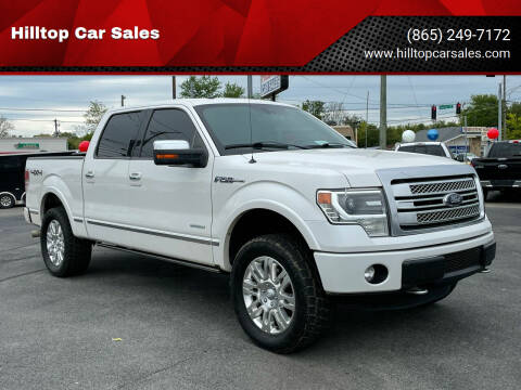 2013 Ford F-150 for sale at Hilltop Car Sales in Knox TN