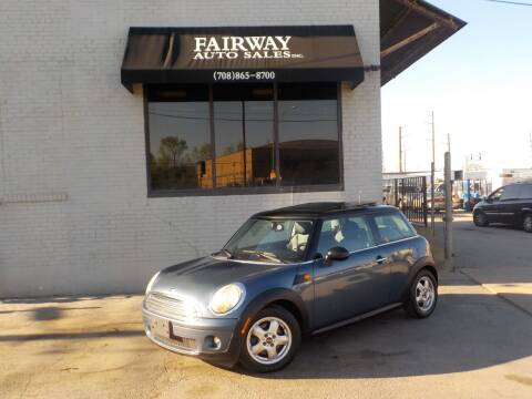 2010 MINI Cooper for sale at FAIRWAY AUTO SALES, INC. in Melrose Park IL