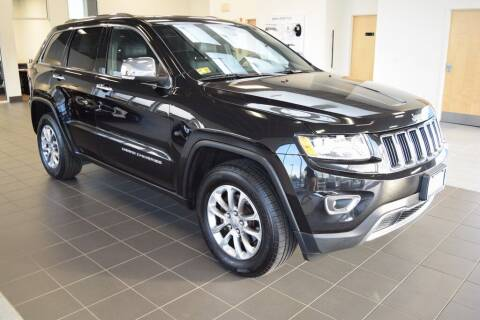 2015 Jeep Grand Cherokee for sale at BMW OF NEWPORT in Middletown RI
