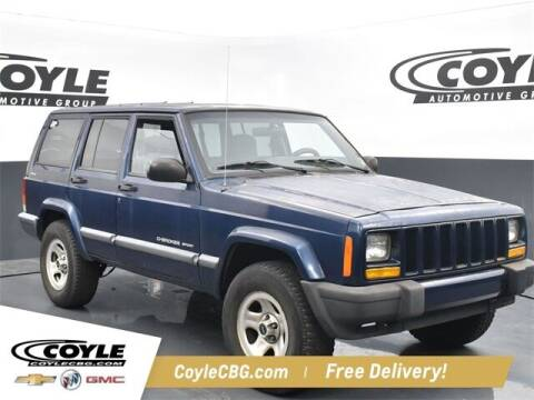 2000 Jeep Cherokee for sale at COYLE GM - COYLE NISSAN - New Inventory in Clarksville IN