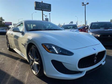 2017 Maserati GranTurismo for sale at Carmania of Stevens Creek in San Jose CA