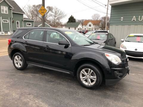 2012 Chevrolet Equinox for sale at SHEFFIELD MOTORS INC in Kenosha WI