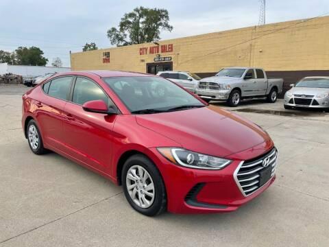 2017 Hyundai Elantra for sale at City Auto Sales in Roseville MI