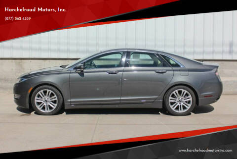 2014 Lincoln MKZ for sale at Harchelroad Motors, Inc. in Wauneta NE