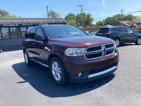 2012 Dodge Durango for sale at Savannah Motors in Belleville IL