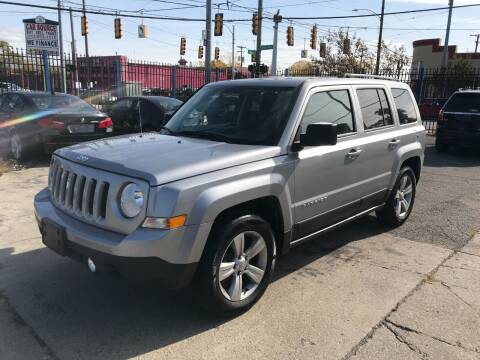 2017 Jeep Patriot for sale at SKYLINE AUTO in Detroit MI