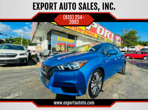 2021 Nissan Versa for sale at EXPORT AUTO SALES, INC. in Nashville TN