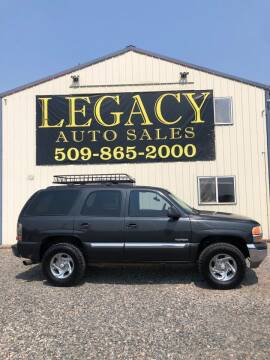 2003 GMC Yukon for sale at Legacy Auto Sales in Toppenish WA