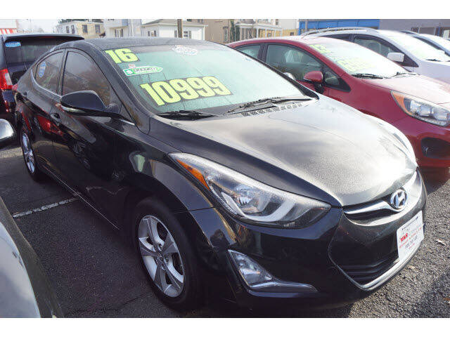 2016 Hyundai Elantra for sale at M & R Auto Sales INC. in North Plainfield NJ