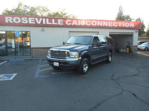 2002 Ford Excursion for sale at ROSEVILLE CAR CONNECTION in Roseville CA