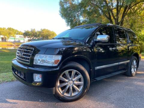 2010 Infiniti QX56 for sale at Powerhouse Automotive in Tampa FL