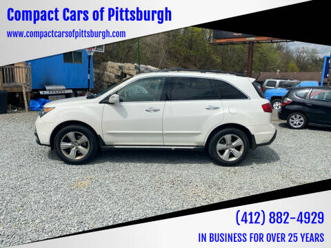 2011 Acura MDX for sale at Compact Cars of Pittsburgh in Pittsburgh PA