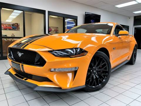 2019 Ford Mustang for sale at SAINT CHARLES MOTORCARS in Saint Charles IL