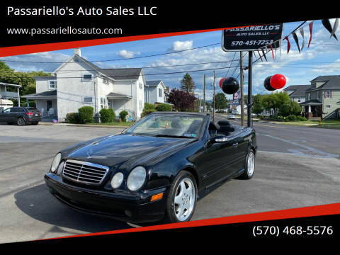 2002 Mercedes-Benz CLK for sale at Passariello's Auto Sales LLC in Old Forge PA