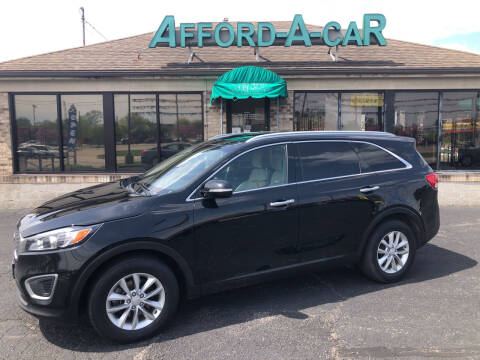 2016 Kia Sorento for sale at Afford-A-Car in Moraine OH