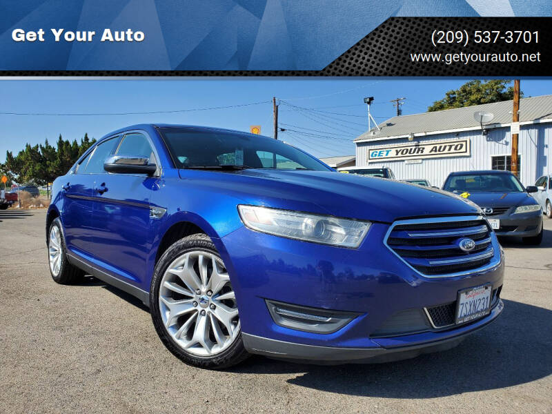 2014 Ford Taurus for sale at Get Your Auto in Ceres CA