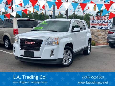2013 GMC Terrain for sale at L.A. Trading Co. in Woodhaven MI