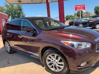 2013 Infiniti JX35 for sale at Memphis Finest Auto, LLC in Memphis TN