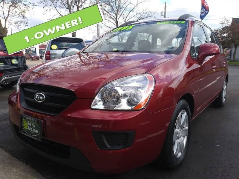 2008 Kia Rondo for sale at Oak Hill Auto Sales of Wooster, LLC in Wooster OH