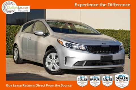2018 Kia Forte5 for sale at Dallas Auto Finance in Dallas TX