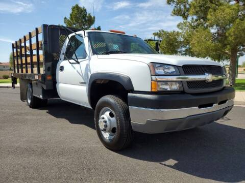 2004 Chevrolet Silverado 3500 for sale at AZ WORK TRUCKS AND VANS in Mesa AZ