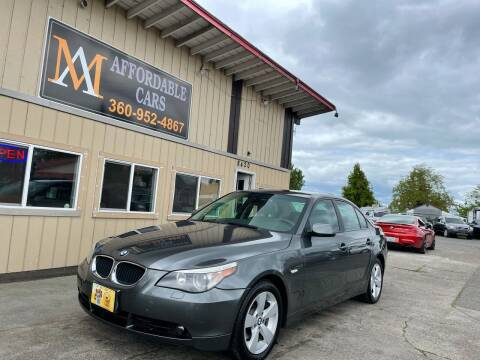 2006 BMW 5 Series for sale at M & A Affordable Cars in Vancouver WA