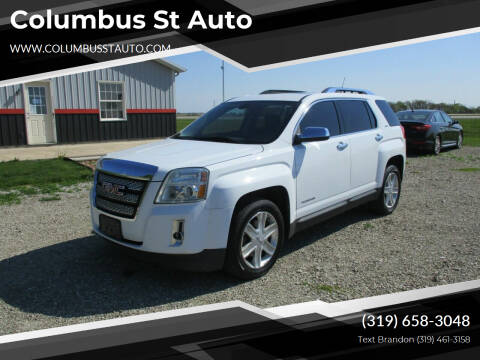 2011 GMC Terrain for sale at Columbus St Auto in Crawfordsville IA
