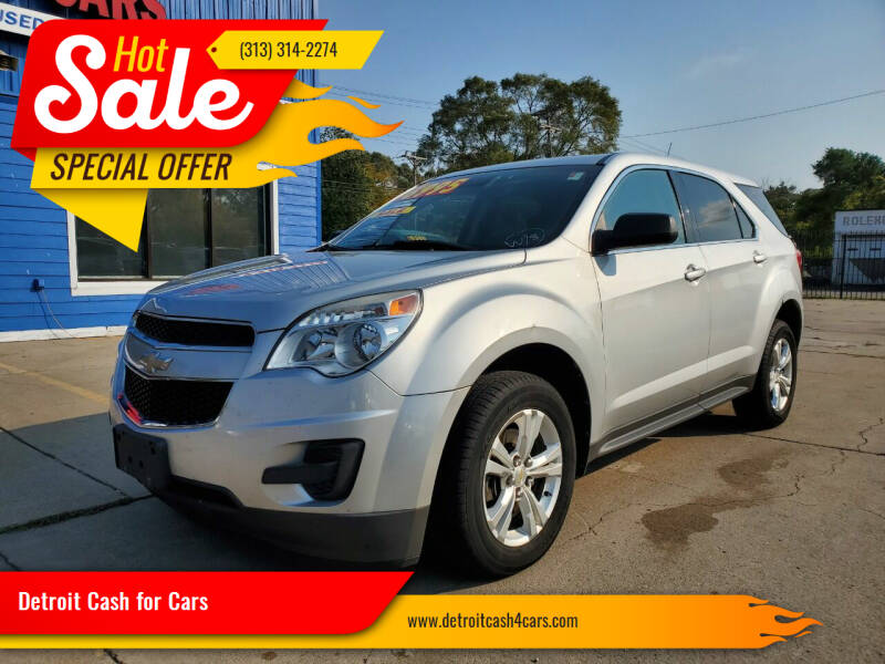 2012 Chevrolet Equinox for sale at Detroit Cash for Cars in Warren MI