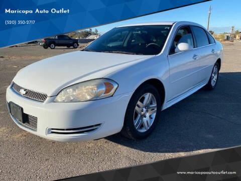 2013 Chevrolet Impala for sale at Maricopa Auto Outlet in Maricopa AZ