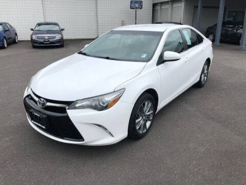 2015 Toyota Camry for sale at TacomaAutoLoans.com in Tacoma WA