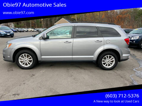 2016 Dodge Journey for sale at Obie97 Automotive Sales in Londonderry NH