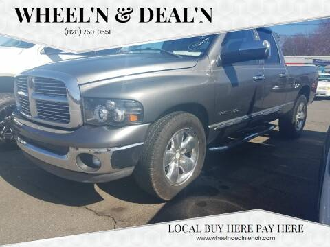 2005 Dodge Ram Pickup 1500 for sale at Wheel'n & Deal'n in Lenoir NC