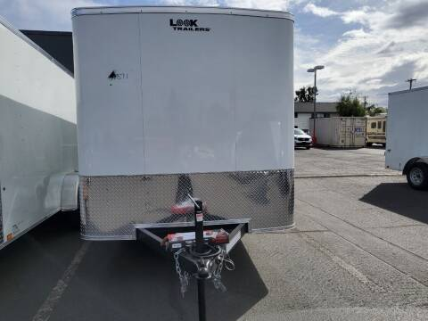 2022 Look Cargo Trailer LSCAA7.0X16TE2FC for sale at Siamak's Car Company llc in Salem OR