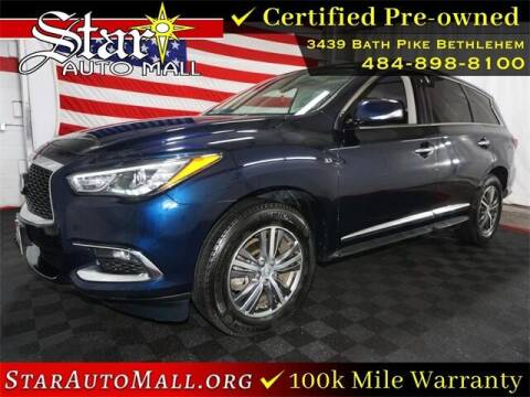 2019 Infiniti QX60 for sale at STAR AUTO MALL 512 in Bethlehem PA