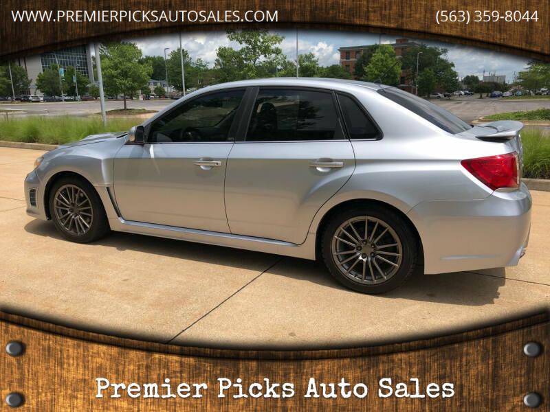 2014 Subaru Impreza for sale at Premier Picks Auto Sales in Bettendorf IA