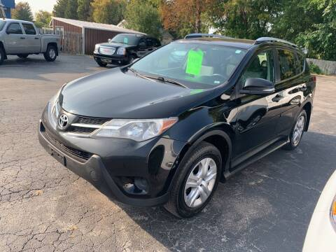 2013 Toyota RAV4 for sale at PAPERLAND MOTORS in Green Bay WI